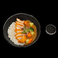 Chicken kutzu curry 14.90€